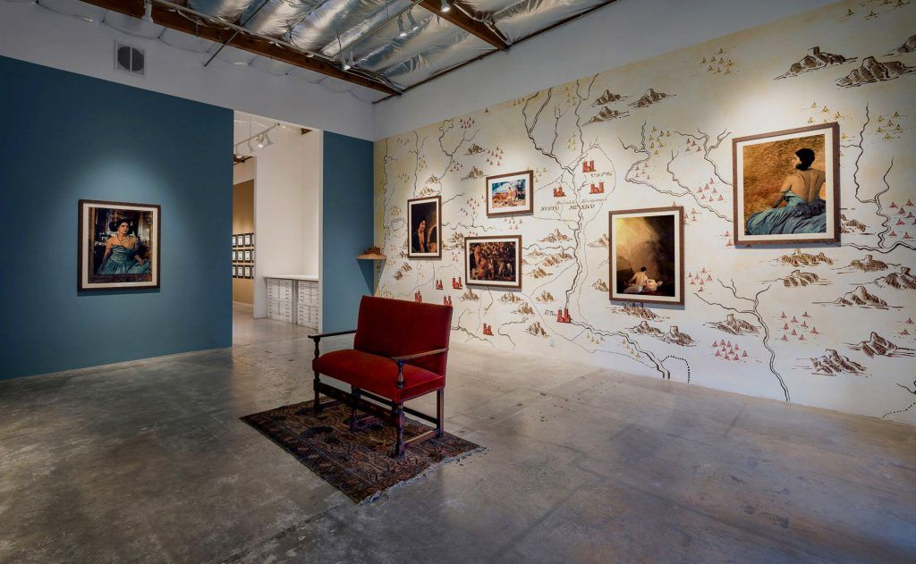 """The Bone-Grass Boy: The Secret Banks of the Conejos River"" at Luis De Jesus Los Angeles, 2017"
