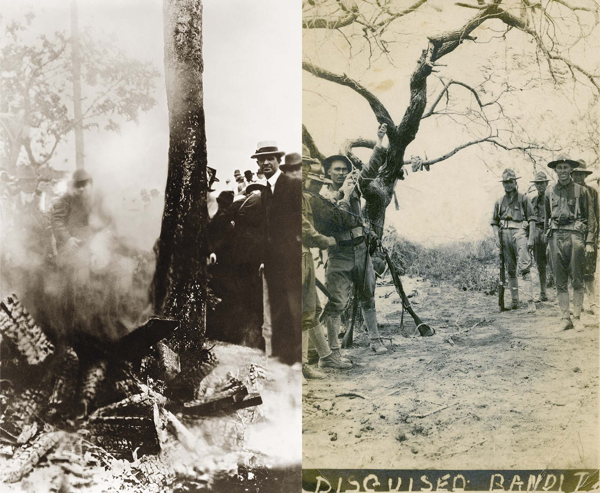 Black and Latino victims from the Erased Lynching Series
