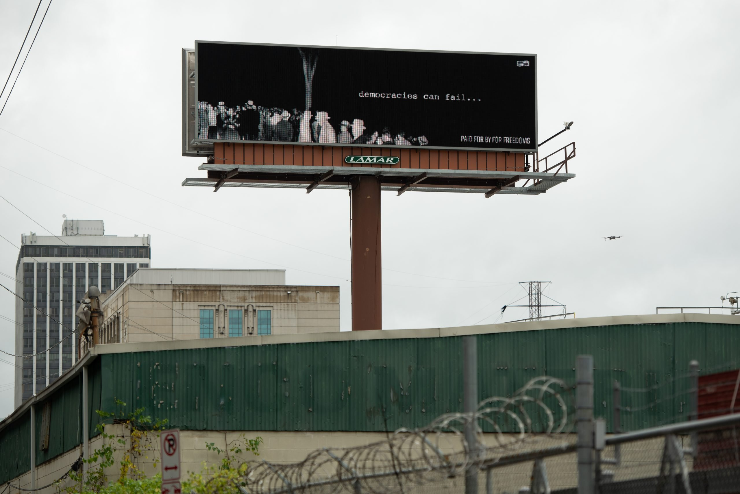 a billboard in nashville