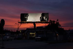 Art is the Message of these Billboards.