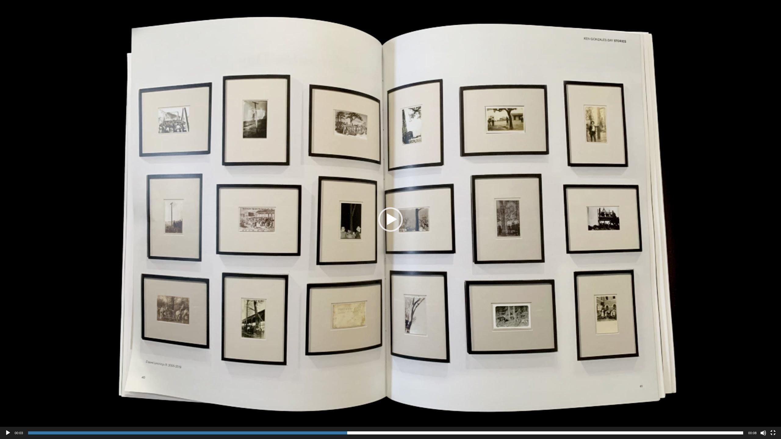 image of magazine spread