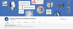Logo for Archives of American Art